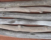 Driftwood - 6 Straight Pieces