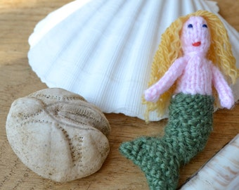 Mermaid and Flower Fairy Knitting Pattern