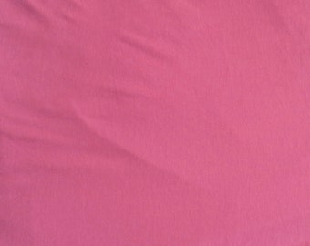 Modal Cotton Spandex Jersey Knit Fabric Eco-Friendly - ROSE HIP Light Weight