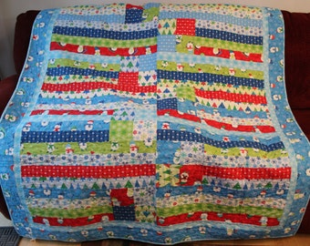 Snow Folks Quilt