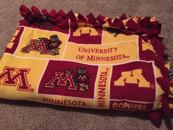 University Of Minnesota Blanket Gophers Ncaa By
