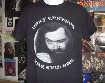 Roky Erickson T-shirt (FREE SHIPPING in the Usa only) The Evil One 13th Floor Elevators Aliens Night of The Vampire Two Headed Dog