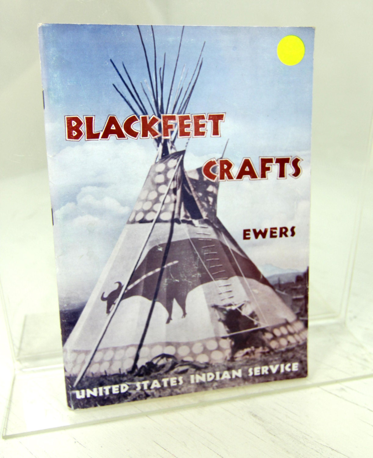 Blackfeet crafts john c ewers vintage native by for What crafts did the blackfoot tribe make