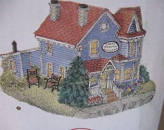Liberty Falls Collection Houses Home of Seamstress Ida Pen AH2159 w Box CL23-6