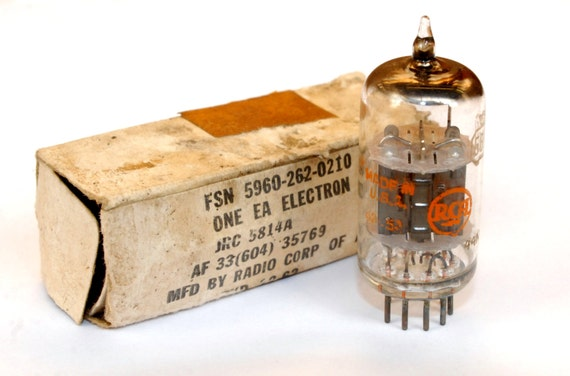Identifying Vintage NOS Vacuum Tubes by Brand Country and EIA Code