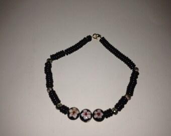 Black river necklace