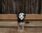 Halloween Primitive Witch Art Doll Ooak