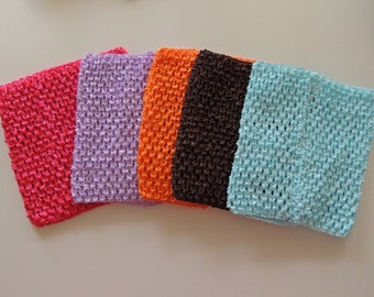 Crochet Tutu Top, 6 inch tube top, wholesale tutu top, DIY tutu, DIY Halloween Costume
