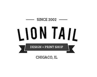 Logo INSTANT DOWNLOAD // DIY Business Cards and Stationary // *****Adobe Illustrator File*****