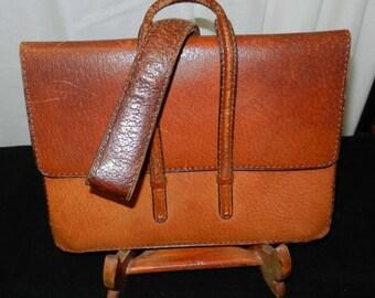 Leather Purse Vintage Jean Pax Paris