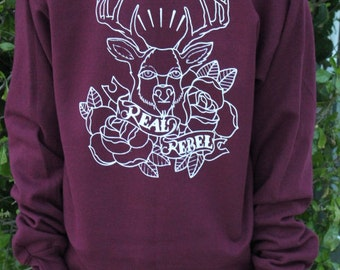 Christmas Holiday Deer Sweatshirt