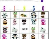 Beanie Boo Bingo Instant Download