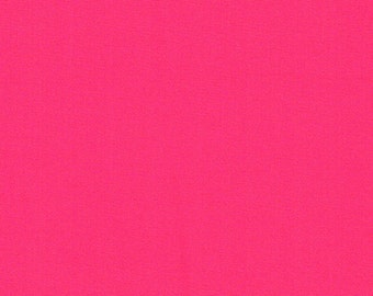 Hot Pink Neon Knit Fabric by the yard Hot Pink Neon solid Techno fabric Hot Pink Neon Fabric by the yard - 1 Yard Style 412