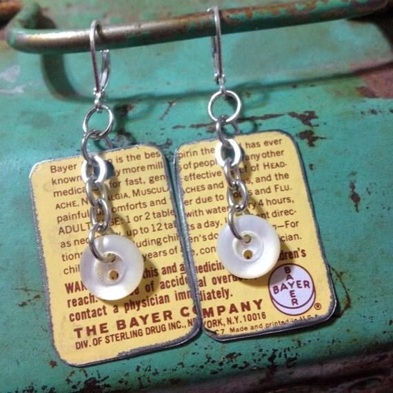 Jewelry Dangle Earrings Boho Chic Art By JuLieSJuNQueTiQue