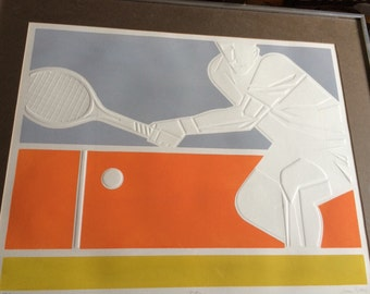 Signed and numbered Jerome Rettich print