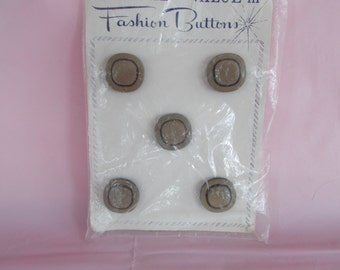 Vintage Craft Fashion Buttons