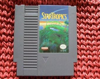 Nintendo Game Cartridge StarTropics 1985