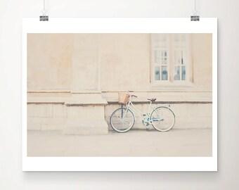 mint bicycle photograph Cambridge photograph wanderlust art mint bike photograph mint bicycle print green bicycle art