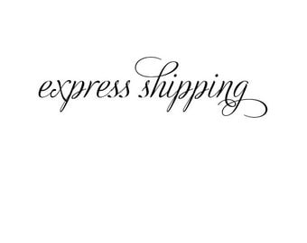 Add express shipping australia only