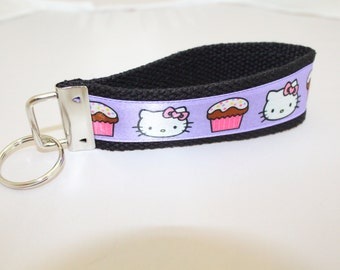Hello Kitty in Purple & Pink Key FOB