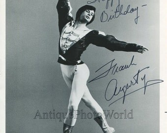 Frank Augustyn Canada ballet dancer vintage hand signed photo