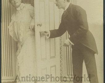 Fanny Davenport actress antique photo