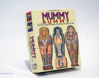 Mummy Rummy Card Game from Gamewright 1994 BRAND NEW
