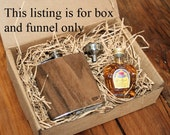 Gift box and funnel - Does not include flask or Crown Royal