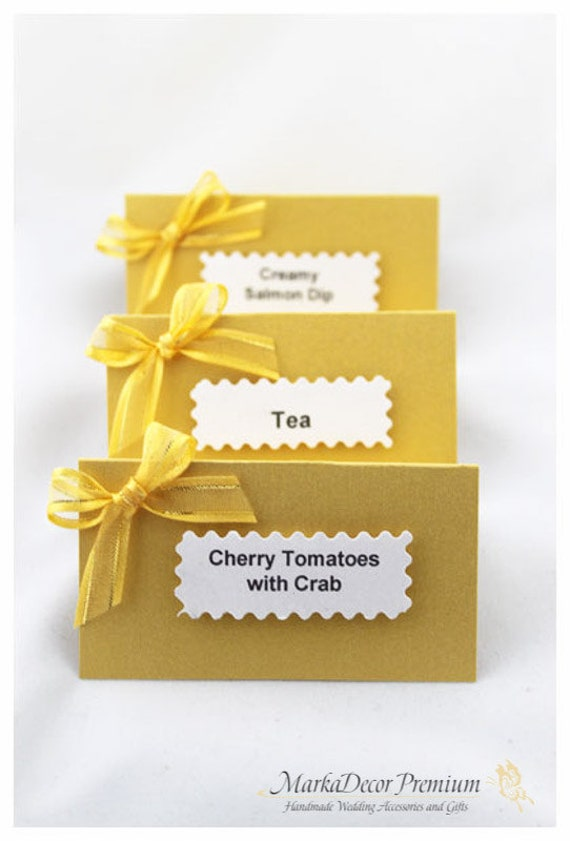 custom wedding escort place cards candy bar by