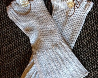 Upcycled Recycled Repurposed Leg Warmers