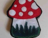 Toadstool Needlecase