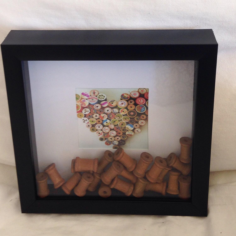 3d Frame Pop Out Print Handmade Wall Art By