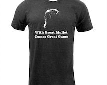 With Great Mullet Comes Great Game - Tri Black