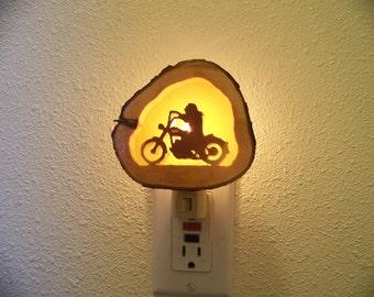 Harley rider nightlight