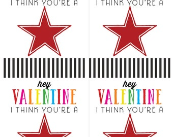 You're a Star Valentine Card