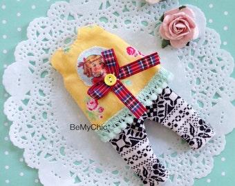 SALE* Lati Yellow Pukifee Cloth Dress Cute Yellow Blossom Vintage Girl