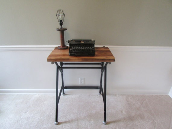 ... Table, Tall Desk, Entry Table, Reclaimed Wood, Small Desk, Vintage