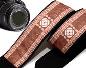Giraffe Camera Strap. Ethnic Camera Strap, African Camera Strap. Accessories