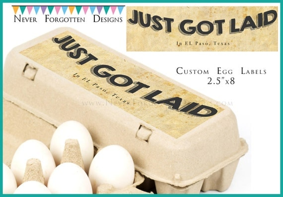 2 5 x 8 egg carton labels customized label