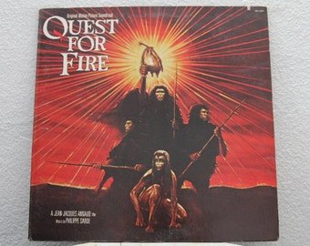 Quest For Fire Original Motion Picture Soundtrack, Music by Phillippe Sarde