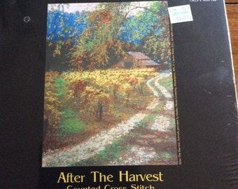After the harvest cross stitch kit