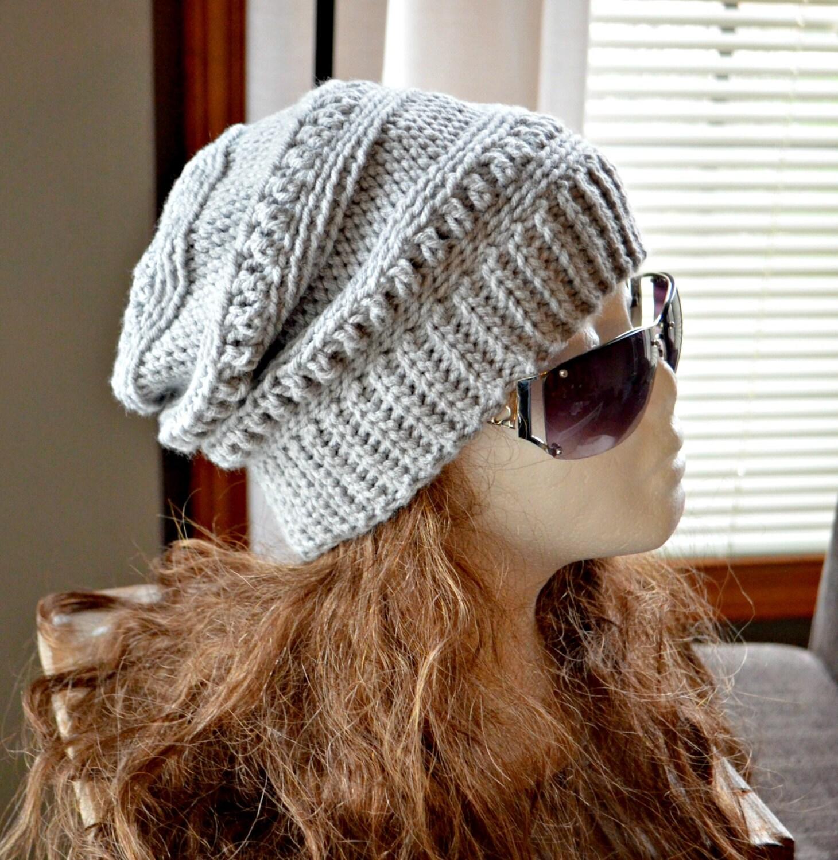 Crochet Slouch Hat: CROCHET PATTERN-Everly Slouch Hat Crochet Hat By