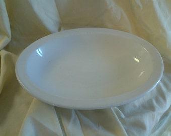 On Sale Shenango China USQMC Oval Serving Bowl Restaurant Ware Shabby Chic Dish
