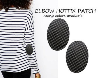 Iron On Hot Fix Elbow Patch Applique