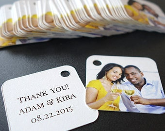 Wedding Favor Thank You Gift Tags, Set of 300, Mini Size