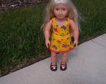skirt and top for 18 inch doll