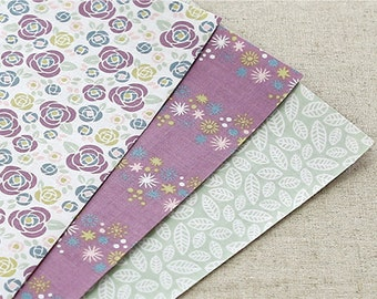Fabric Sticker Set - Daily Like Camellia 3pk Set