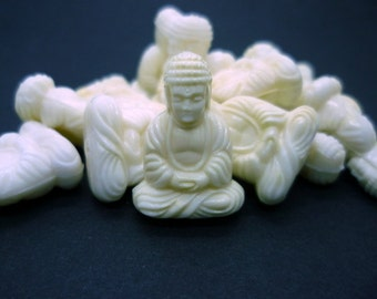 25x18mm Buddha Bead 2 Pcs