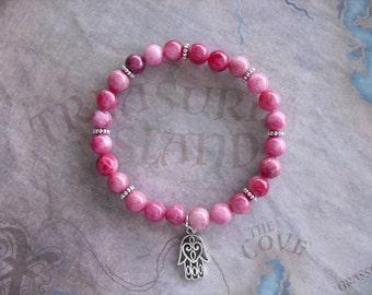 Beautiful kunzite bracelet