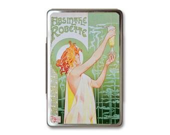 Absinthe Green Metal Box Case